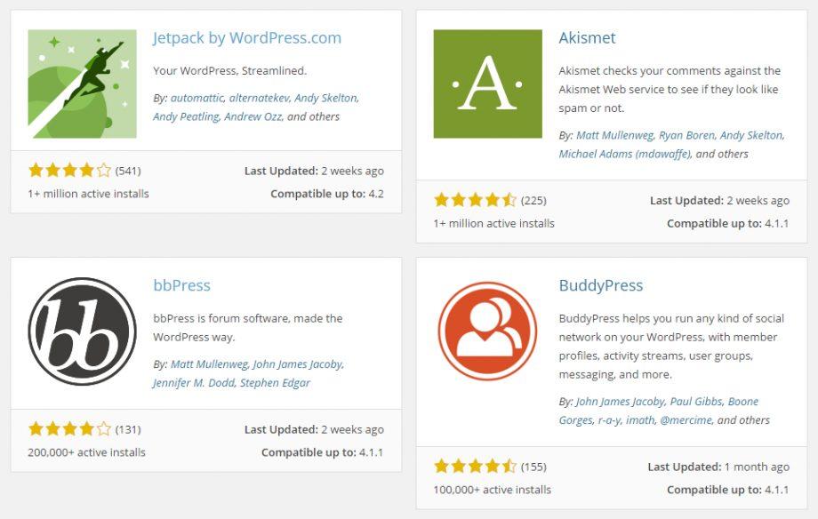 แนะนำ WordPress Plugins น่าใช้ครับ