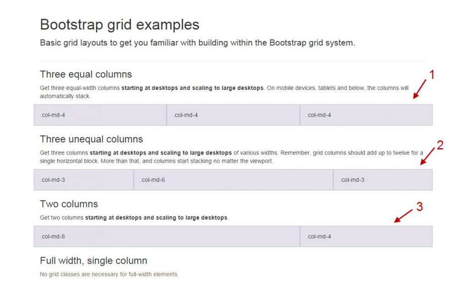 Bootstrap 3 Grid