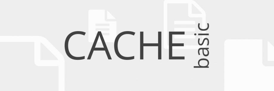 Cache - basic