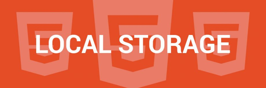 HTML5 - Local Storage