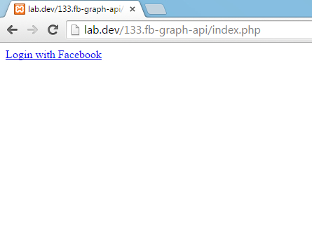 OAuth - Facebook step 1