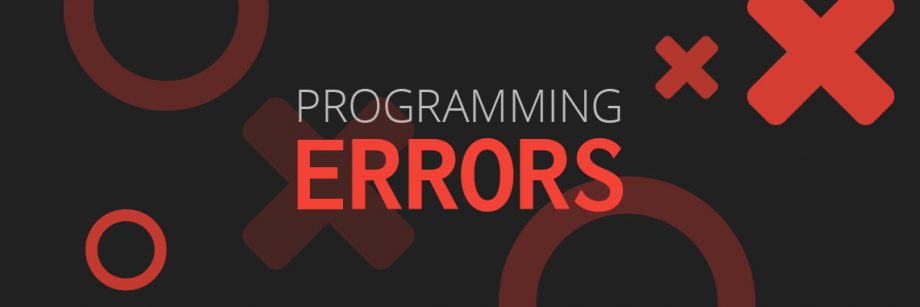 ประเภทของ Programming Errors