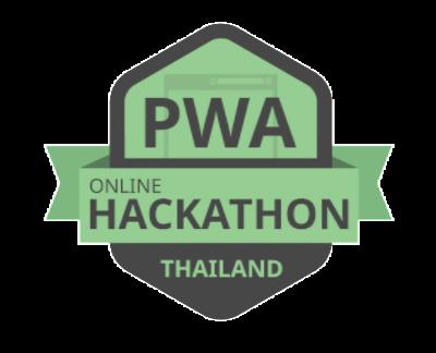 PWA Online hackathon logo
